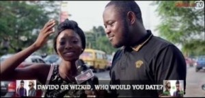 Video: Delarue TV – Wizkid or Davido, Who Will You Date?